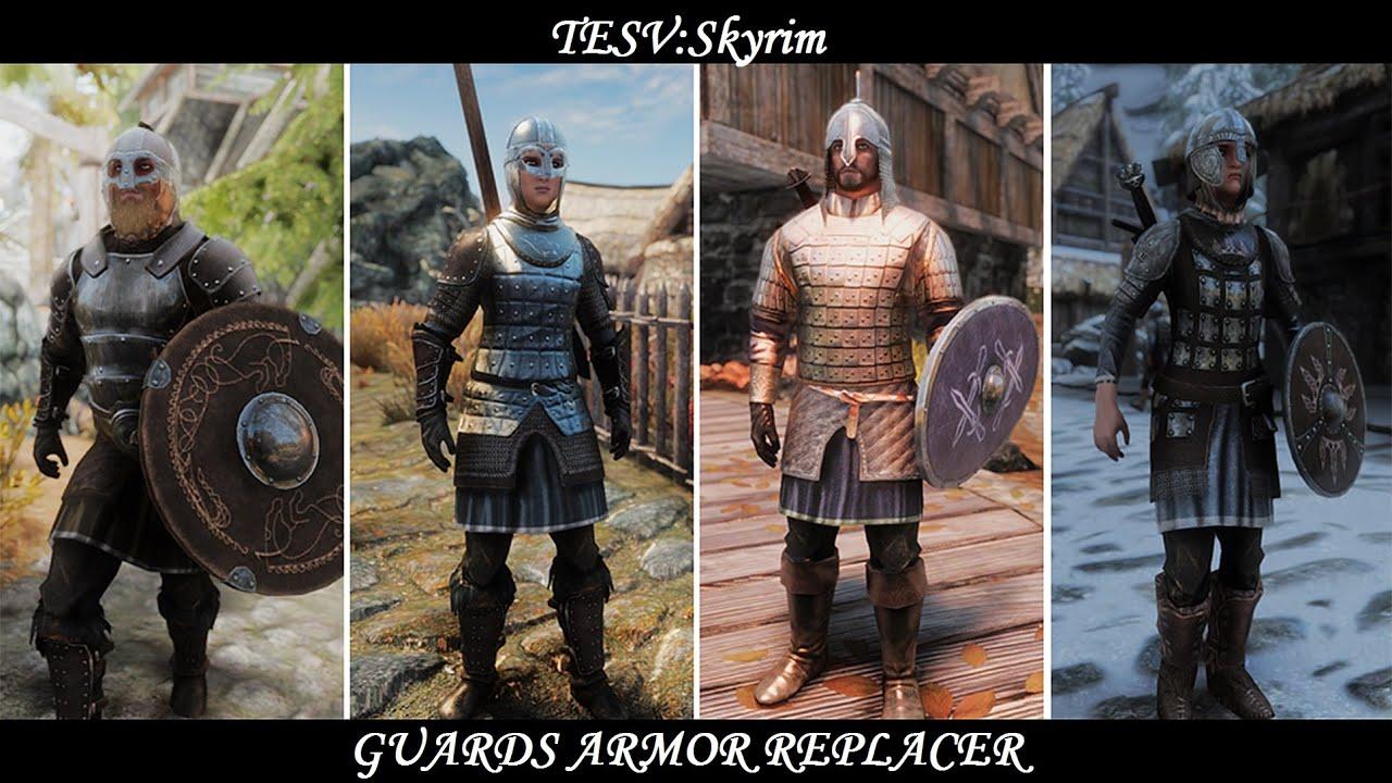 Guard Armor Replacer Skyrim