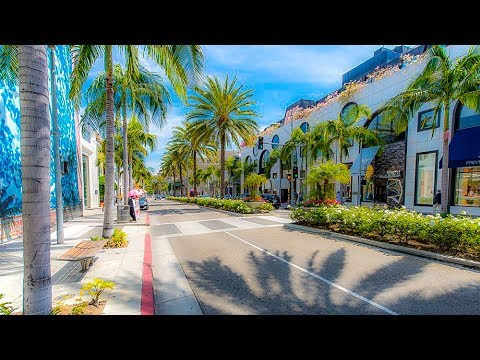 A Walk Down Rodeo Drive, Beverly Hills