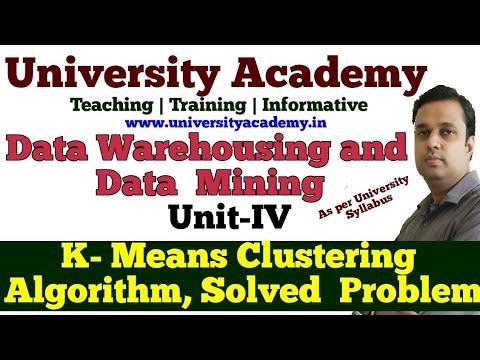 DWM23: Partitional Algorithm In Data Warehouse Classifications  K Means Clustering Algorithm