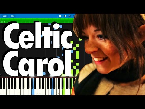 Lindsey Stirling - Celtic Carol | Synthesia Piano Tutorial