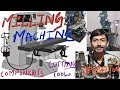 [HINDI]MILLING MACHINE   PARTS OR COMPONENTS OF MILLING MACHINE   MILLING MACHINE OPERATIONS etc.