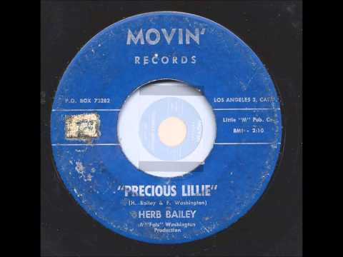 Herb Bailey & Group - Someway Somehow / Precious Lillie - Movin 126 - 1964