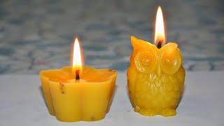 Как сделать свечу из воска. Изготовление свечей из пасечного воска своими руками. Быстро и легко
