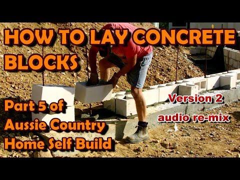 How to Lay Concrete Blocks