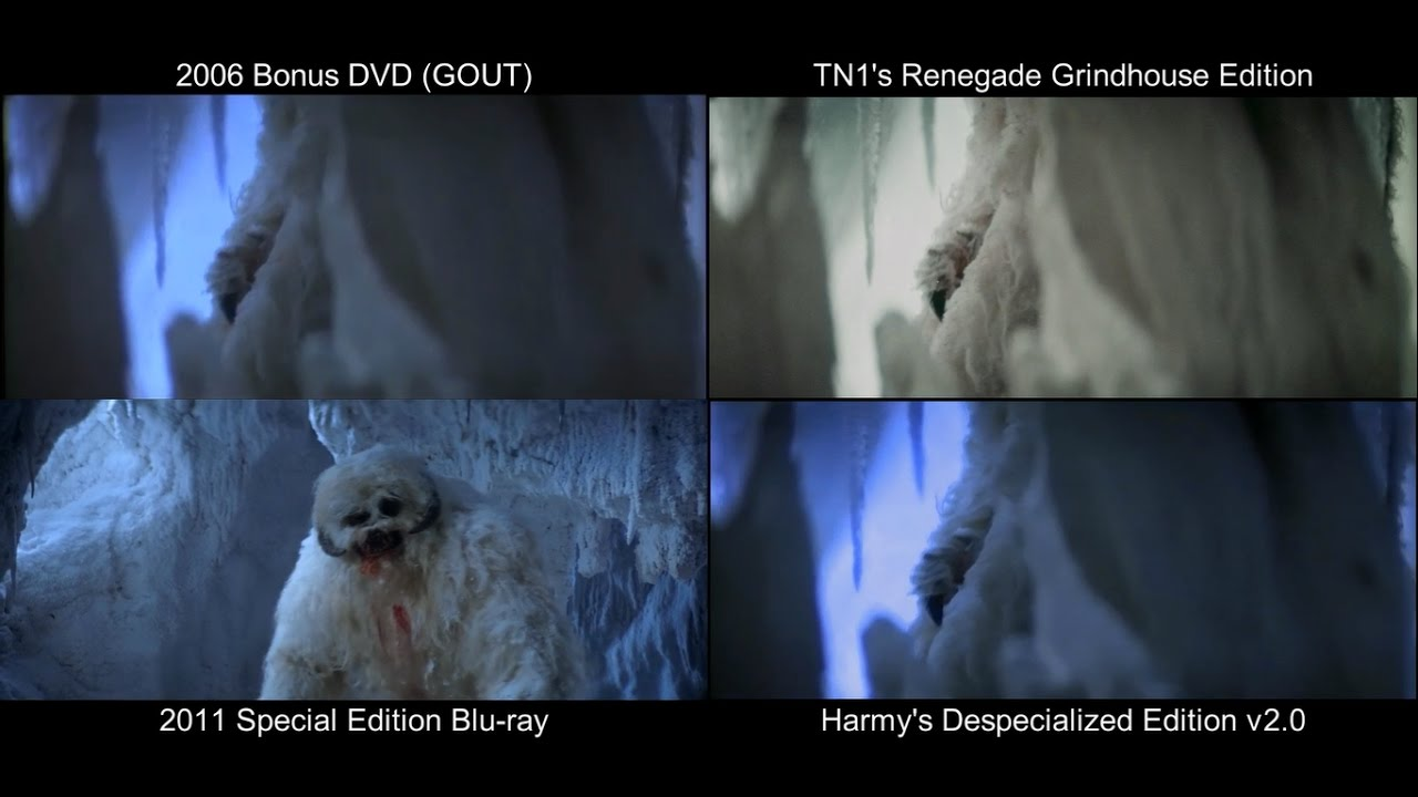 ORIGINAL Wampa Scene | The Empire Strikes Back (1980) [DeEd