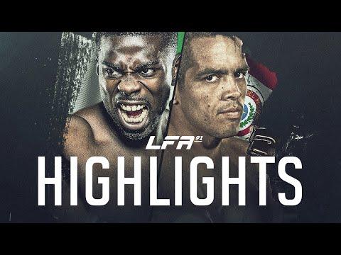 LFA 91 Highlights: Njokuani vs. Torres