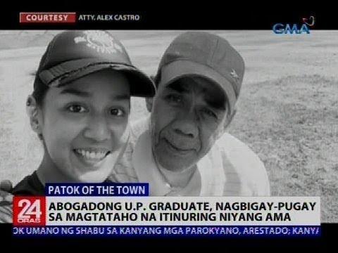 Abogadong U.P. Graduate, nagbigay-pugay sa magtataho na itinuring niyang ama