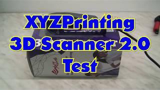 XYZprinting 3D Scanner 2.0 Test