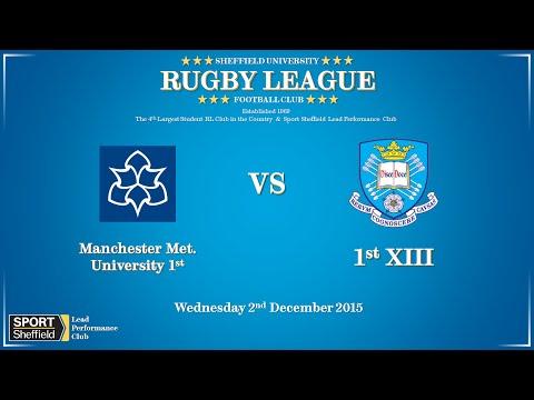 Manchester Metropolitan University vs University of Sheffield 1sts - Full match