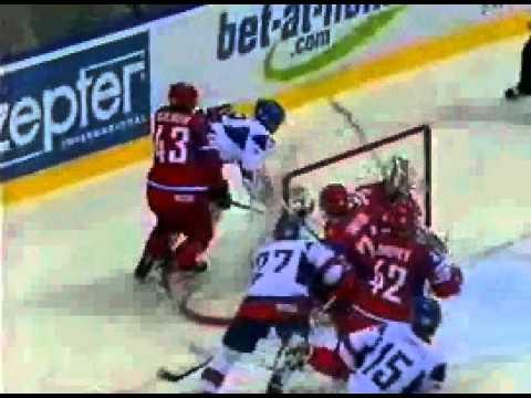 Хоккей. Чемпионат мира. 1\2 финала. Россия - Швеция (1 тайм)из YouTube · Длительность: 36 мин33 с