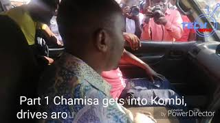 Part 1 Watch Chamisa starts Kombi for a joy ride in Glenview