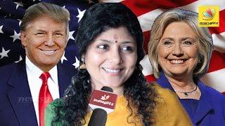 FROM USA : Everyone wanted Hillary Clinton to Win : Interview Pichaikaran Actress Dheepa Ramanujam