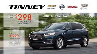 Buick Enclave Crossover for Sale with Price Specials at Tinney Automotive
