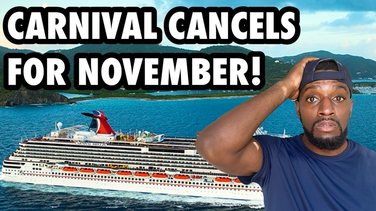 Download Carnival Cancels All Sailings Until December! (CRUISE SHIP NEWS)