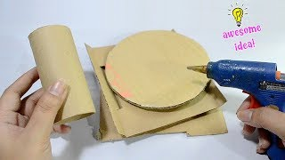 awesome and creative way to recycle cardboards and tissue roll| how to recycle cardboard