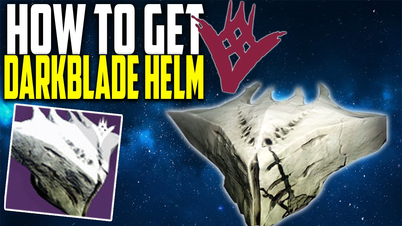 The taken king how to get quot darkblade helm quot best ttk legendary helmet