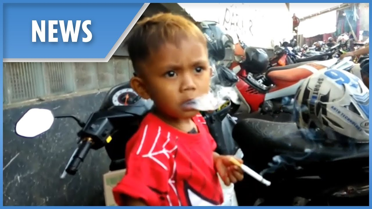 Download The two-year-old who smokes 40 cigarettes a day