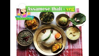 assamese thali items