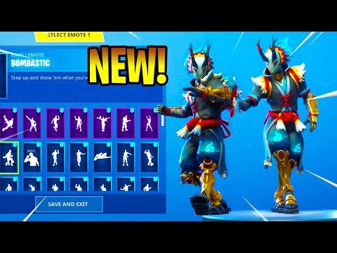 *NEW* TARO Skin Showcase With Dance Emotes! Fortnite Battle Royale