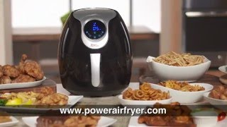 Just bought a Power Air Fryer XL? We walk you through the amazing f...