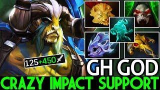 GH [Elder Titan] Hard Practicing New Pick Crazy Impact Support 7.22 Dota 2