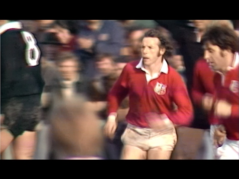 Classic Try: JJ Williams against New Zealand 1977   British & Irish Lions