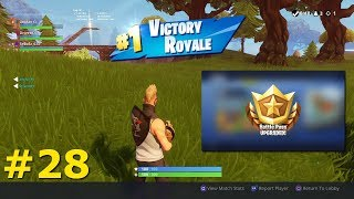 #28 VICTORY ROYALE IN SEASON 5! Battlepass bought Fortnite EN Streampie