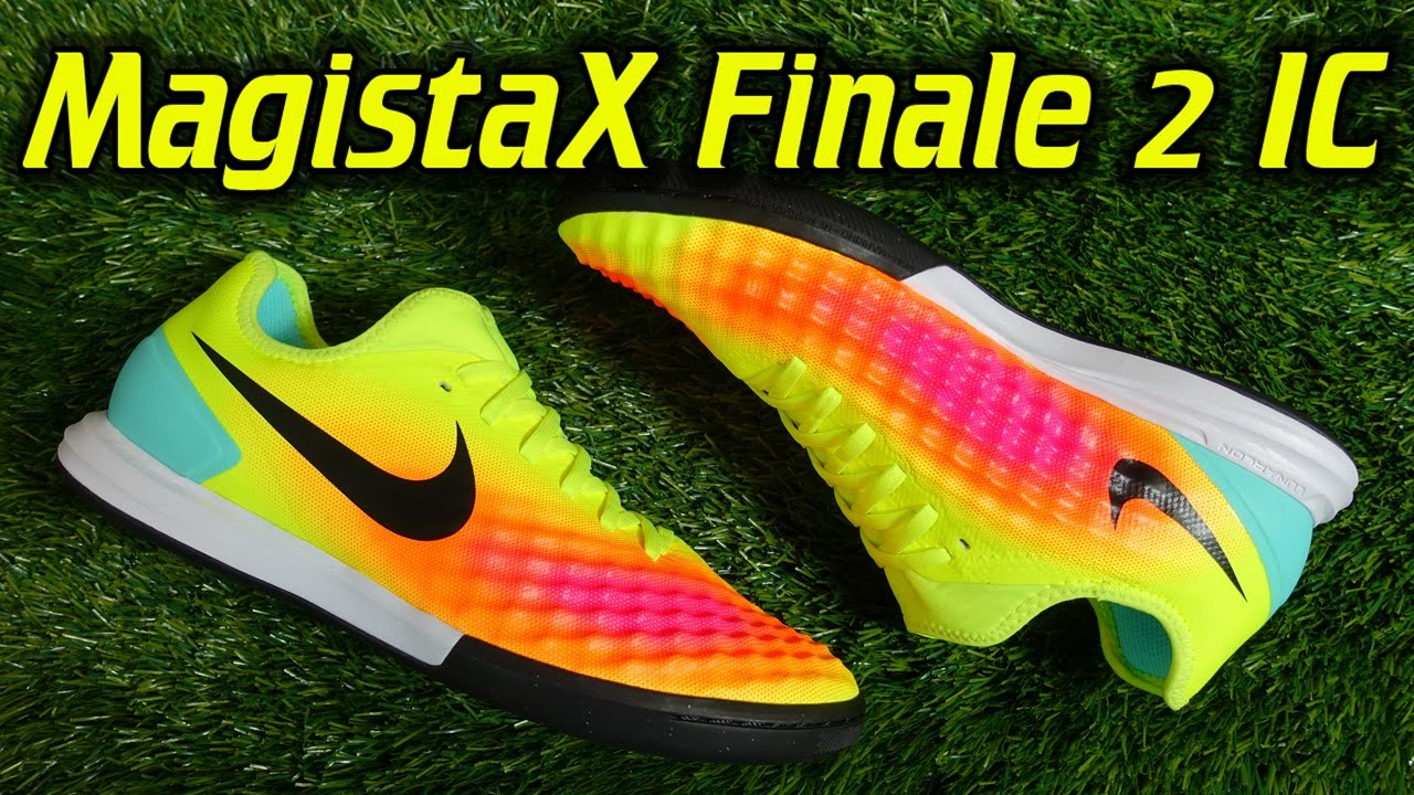 1a58f7ae16ec Nike Magista X Finale 2 Indoor (Volt Total Orange Black) - Review + On Feet  - YouTube