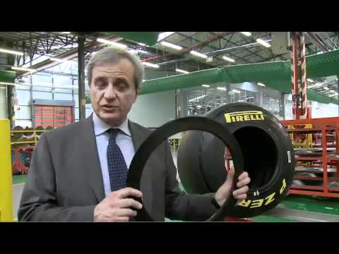 F1 2011 - How the Pirelli Formula One tyre is made (complete version)