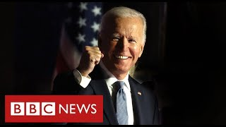 Joe Biden wins US election to become 46th President - BBC News