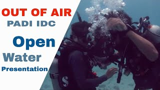 Panic Diver Out of Air PADI IDC Rescue Diver Course