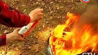 Тест: все ли огнетушители способны справиться с огнем?