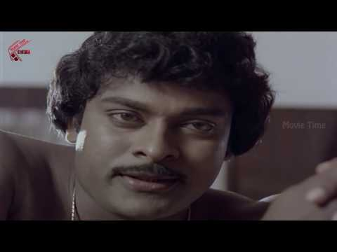 Silk Smitha With Chiranjeevi In Open Blouse || Gooda Chari No 1 Movie