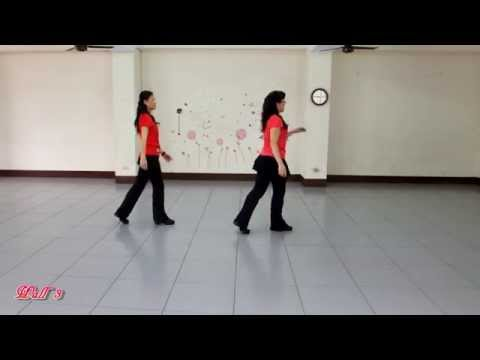 A Chinese Rumba ( 我悄悄蒙上你的眼睛 ) - Line Dance ( by Kenny Teh )