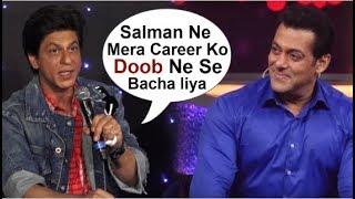 Shahrukh Khan THANKS Salman Khan For SAVING His Flop Career By Giving Zero Movie