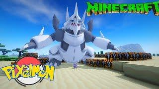 Minecraft Pixelmon+ Tập 14: Thử thách đập lucky block săn pokemon huyền thoại
