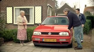 buying a volkswagen from an old lady