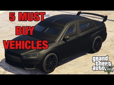 GTA Online : 5 MUST BUY ITEMS (GTA5)