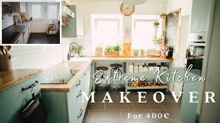 #3 DIY Kitchen Makeover On a Budget (400€)