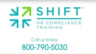 Shift hr compliance training provides engaging, interactive online programs. our prevention of harassment and discrimination in the wo...