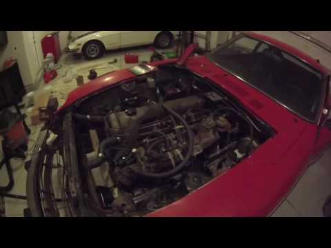 Pulling a Motor out of a 280z - Fairlady's Z - 04