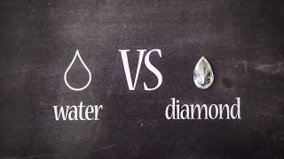 DIAMOND vs WATER PARADOX!