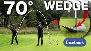 I bought a 70° WEDGE from facebook | ULTIMATE Flop Shot Club