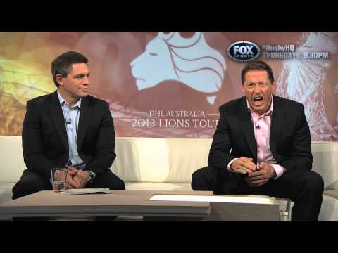 RUGBY HQ - PHIL KEARNS MESSAGE TO WALLABIES FANS