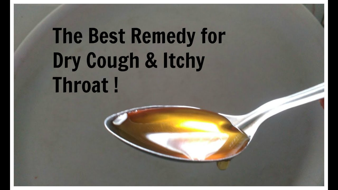 The best medicine for a dry cough for a child
