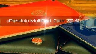 Prestigio MultiPad Color 7.0 3G - цветные планшеты - видео обзор