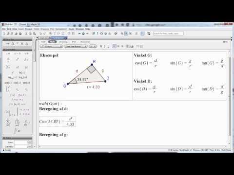 Omskreven og indskreven cirkel i trekant.mp4 from YouTube · Duration:  4 minutes 9 seconds
