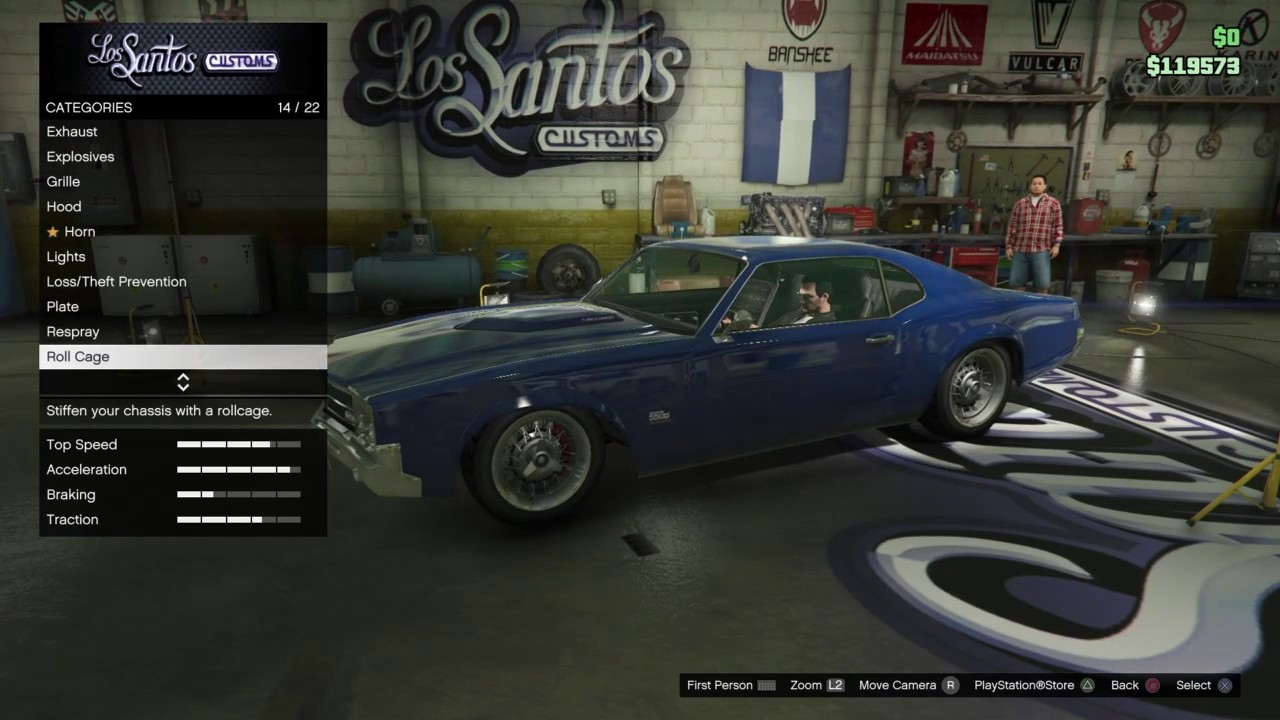gta 5 need for speed ford grand torino build