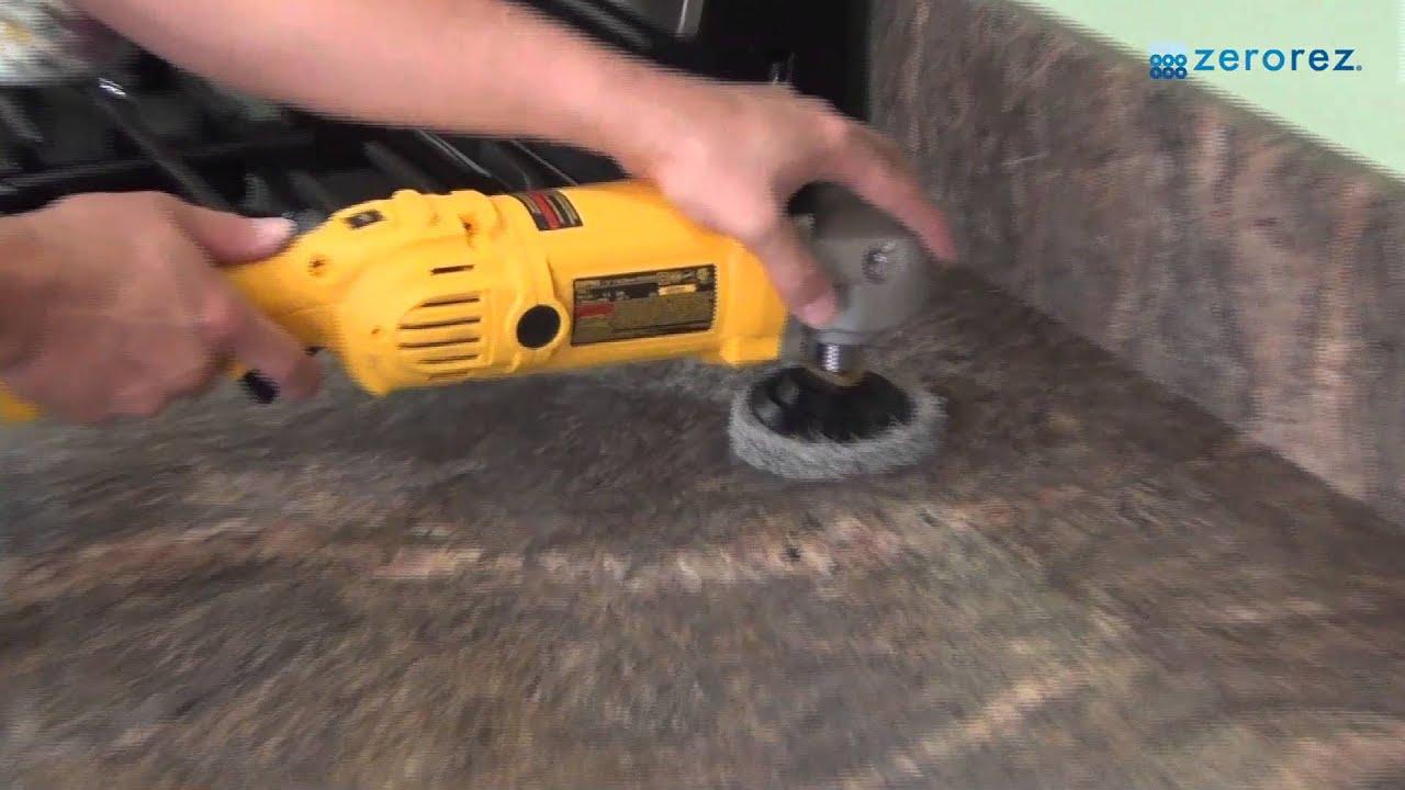 Granite Countertop Restoration Process With Zerorez