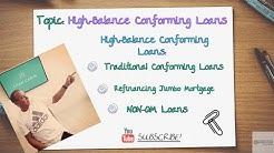 High-Balance Conforming Loans For High-Cost Home Buyers